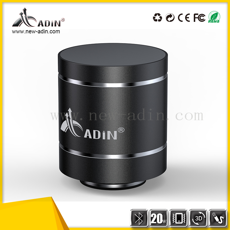 desktop computer infrared wireless vibration speaker with transducer