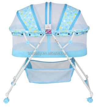lzw bedroom furniture portable baby bed model 806
