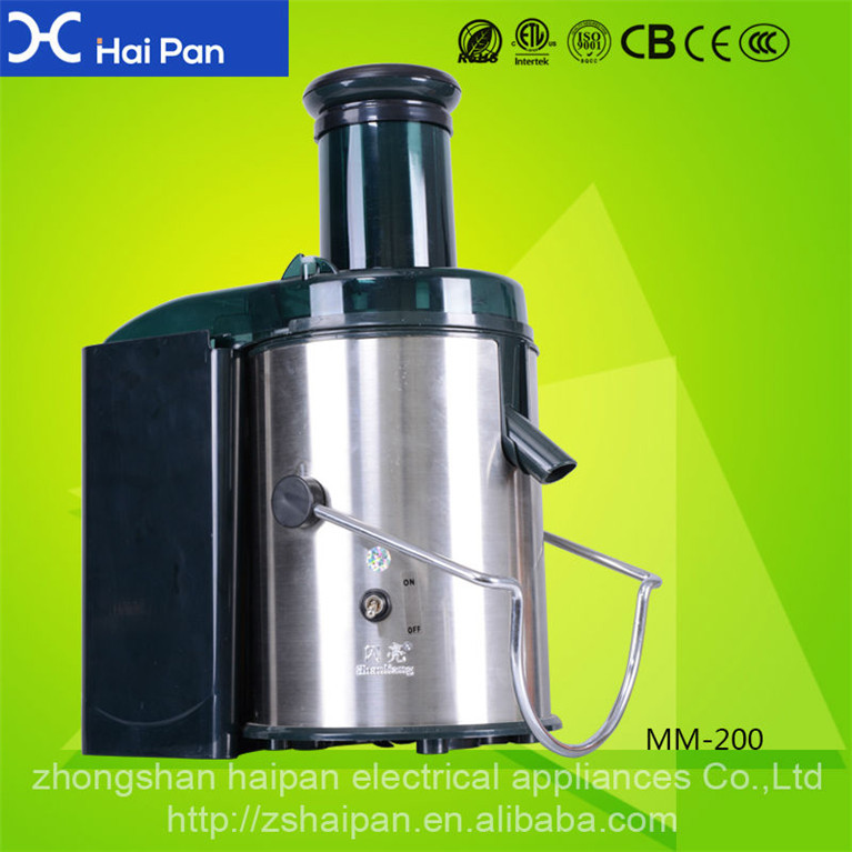 Efficient high quality junguo 800w powerful power juicer extractor