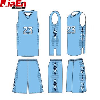 85ef0083eef custom sky blue basketball uniform best design basketball team uniform