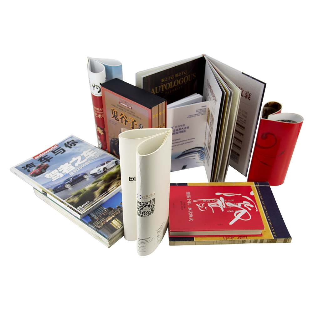 Custom Luxury Full Color A3 A4 size coated paper Hard cover Catalog Booklets Brochure Printing
