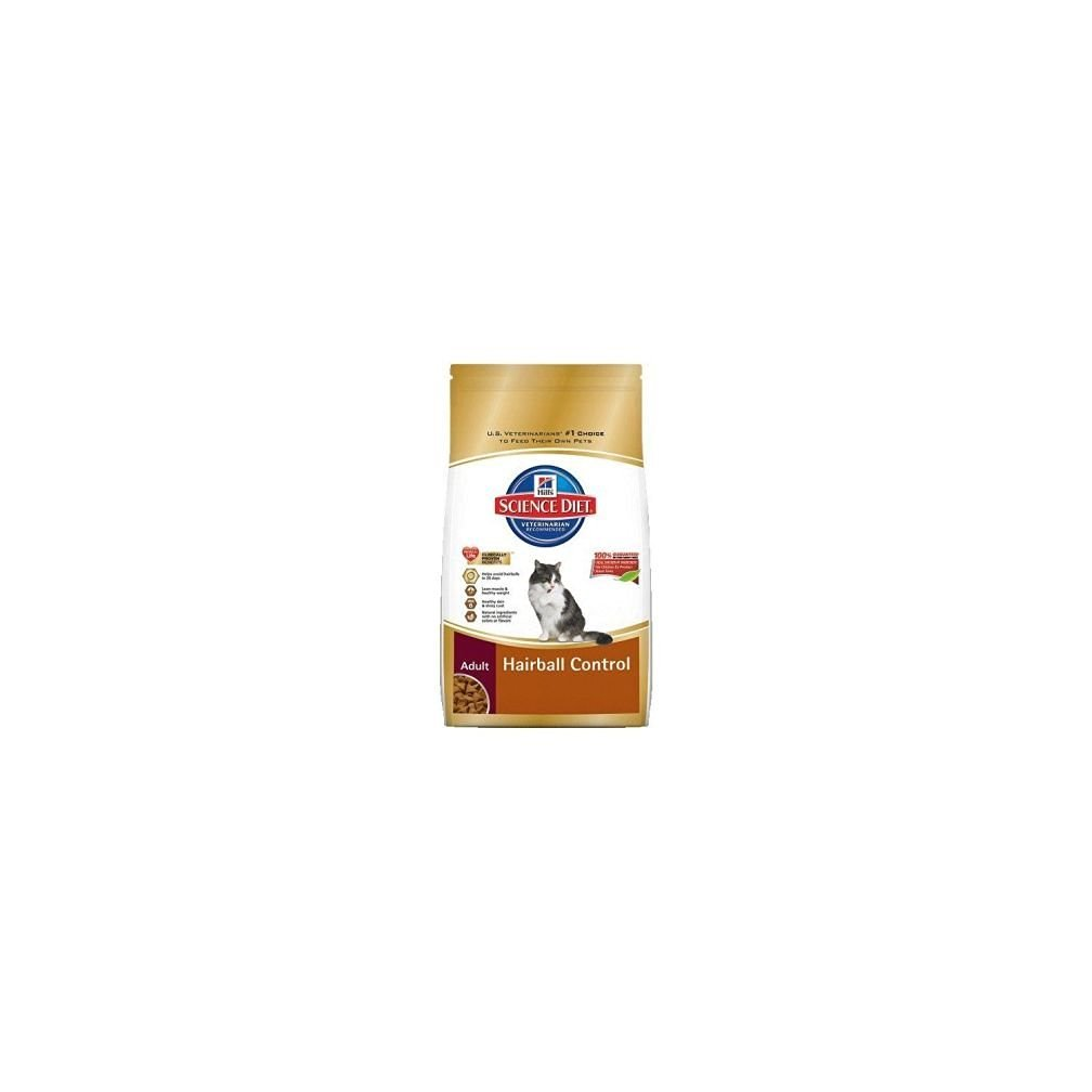 Hill's Science Diet Adult Hairball Control Dry Cat Food 7-Pound Bag New