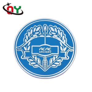 Custom badge of security made funny auto zinc alloy metal car badges  emblems 3D car badge