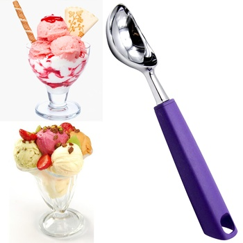 New Modern Amazon Hot Sales Rice Husk Fiber handle Ice Cream Scoop