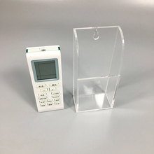Desktop Standing TV Air-Conditioner Remote Control Phone Pencil Clear Acrylic Holder
