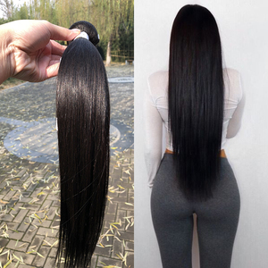 12 14 16 Inch Straight Indian Remy Virgin Human Hair Extensions 3Pcs Lot With Silk Base Top Lace Closure