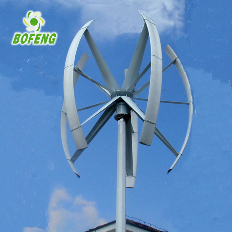 China Exporter Korea Style maglev 5kw vertical wind generator home