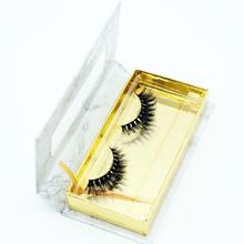 3d handmade diamond mink fur glue eyelash