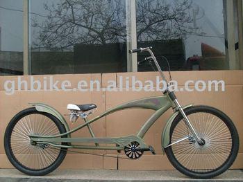 26 New Beach Cruiser Style Chopper Bike