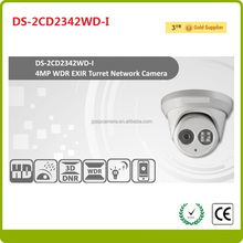 HD Hikvision Hot Selling IP Camear 4.0MP DS-2CD2342WD-I EXIR Dome, Dual Stream IP66,DC12V & POE