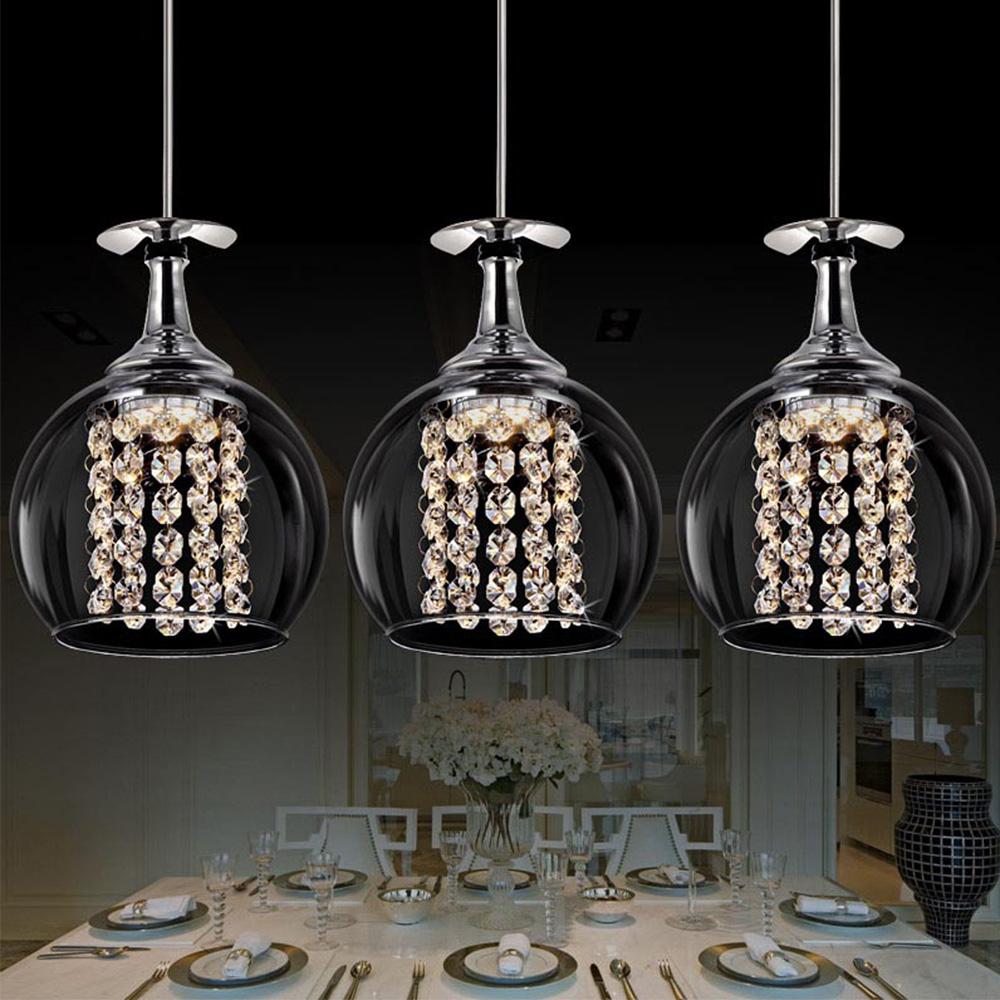 Hohe qualität kristall pendelleuchten und beleuchtung moderne ...