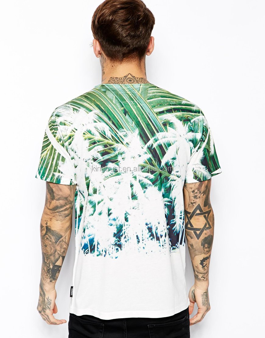 Custom Mens 3 D T Shirt,Wholesale Fancy Full Print T Shirt ...