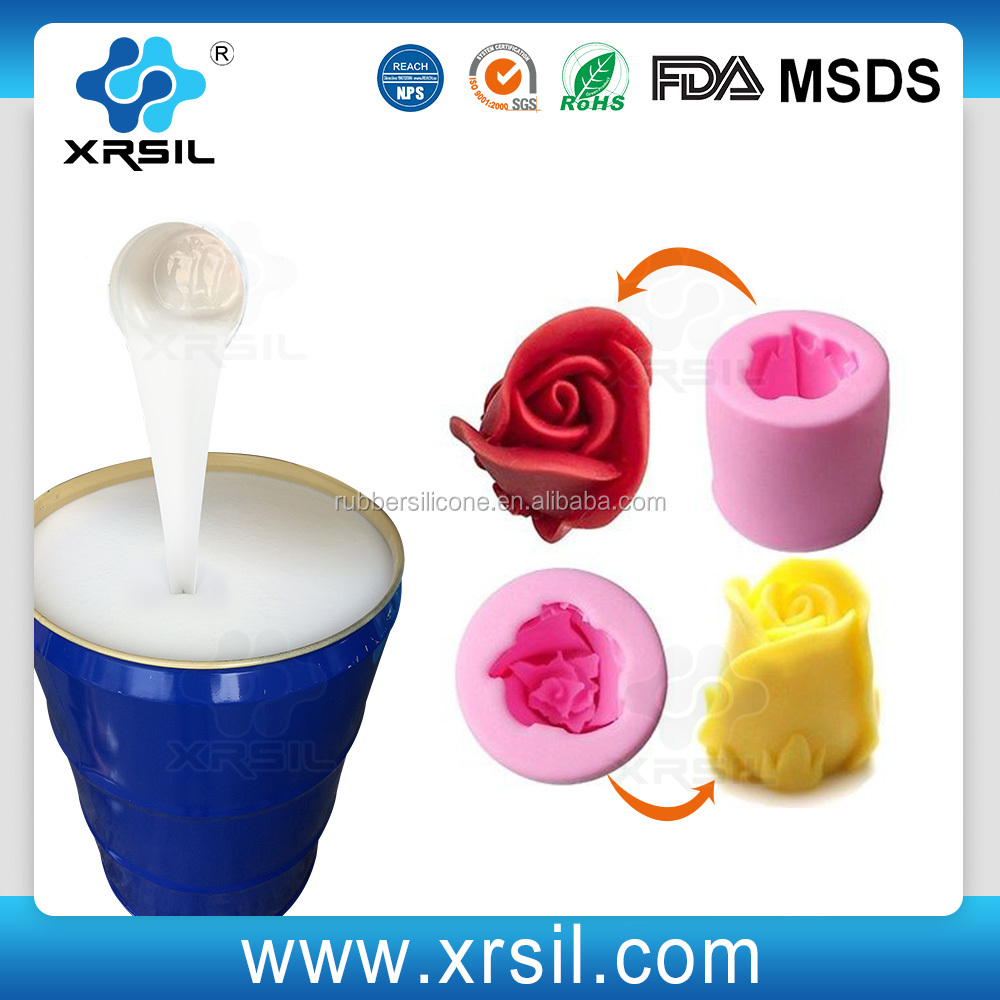 Two-component Rubber Raw Material RTV Silicone for making mold