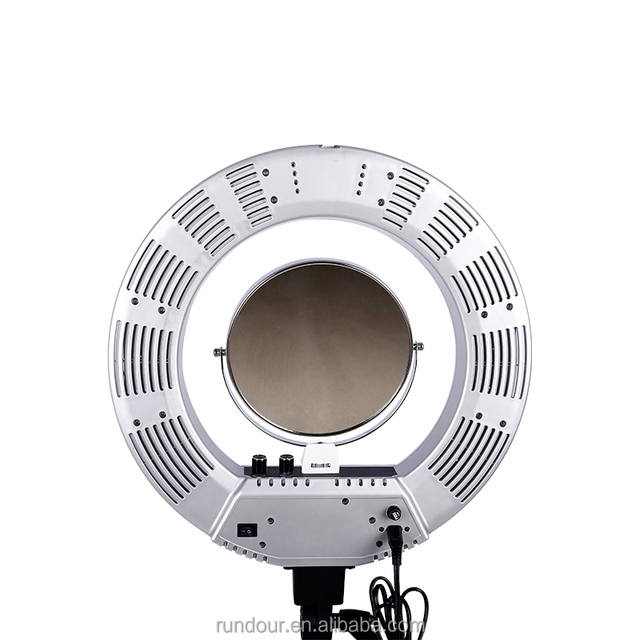 Commercial photography lighting source quality commercial ac powered ring light 18 inch 480 led for commercial product beauty facial shooting photo video aloadofball Images