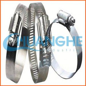 china supplier strong stainless steel301 t spring hose clamp