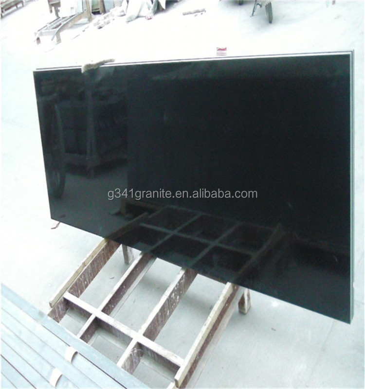 Shanxi accept customized design cheap absolute black granite price absolute black granite