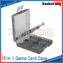 16 in 1 Game Card Box Case for Nintendo DS for 3DS Black