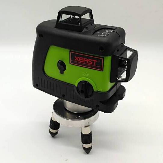 XEAST XE-12G Professional laser level 360 Vertical And Horizontal green 3D Laser Level Self-leveling Cross Line green Beam