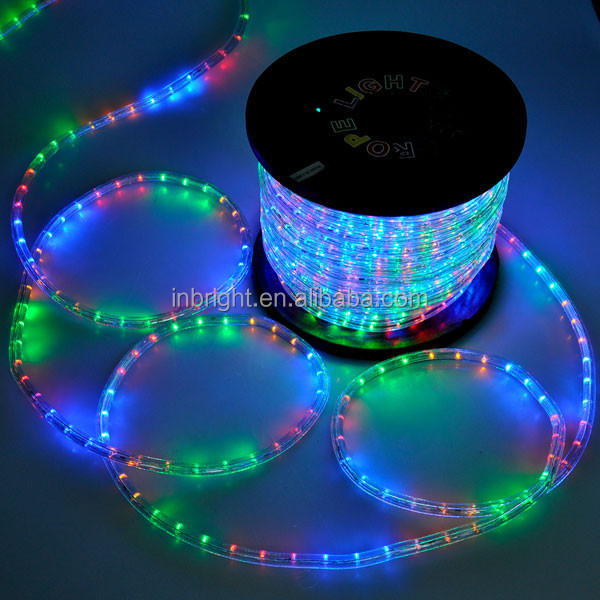 2.2w Diameter 13mm Two Wires Ip65 Color Changing Led Rope Light ...