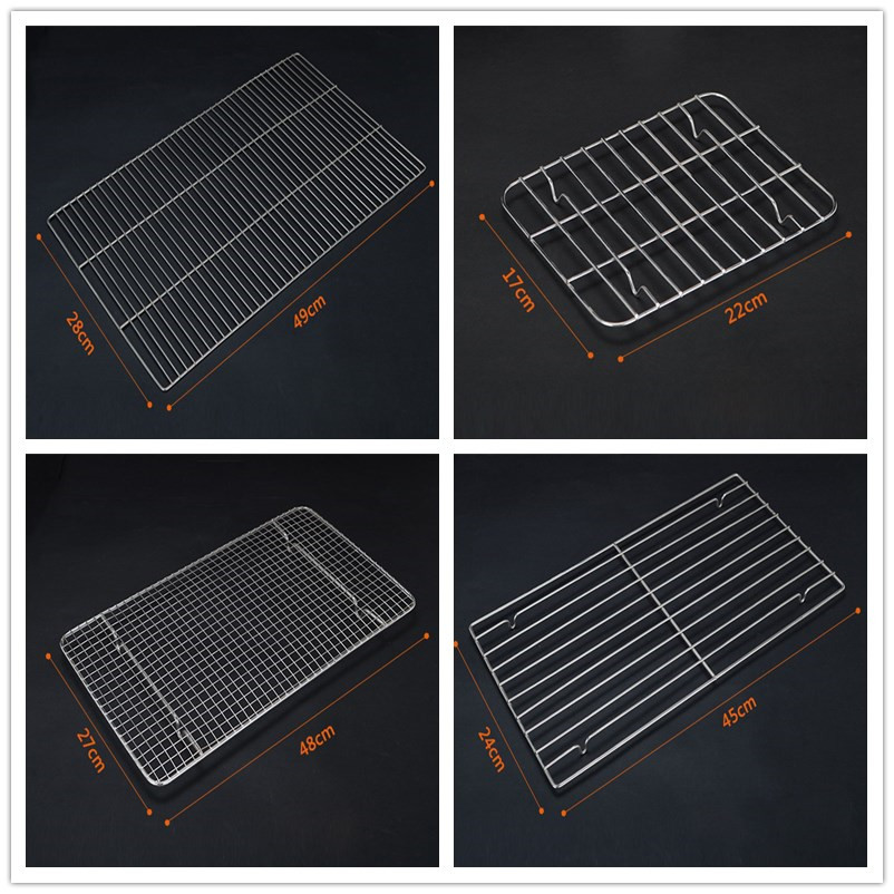 stainless steel food grade stainless steel bbq wire mesh grill cake cooling rack