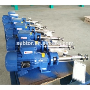 Reliable Durable Stator Rotor Screw Pump Tailored-Made Accurate Metering Multi-Stage