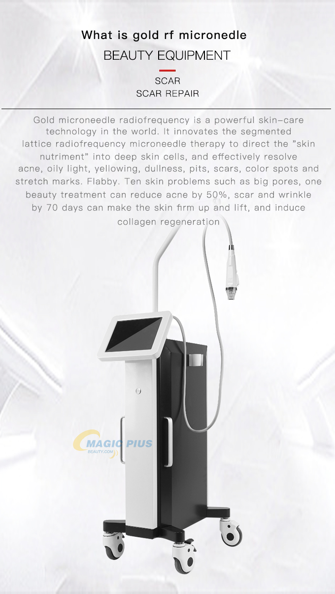 A0136 Fractional RF Microneedle Machine For Skin Rejuvenation