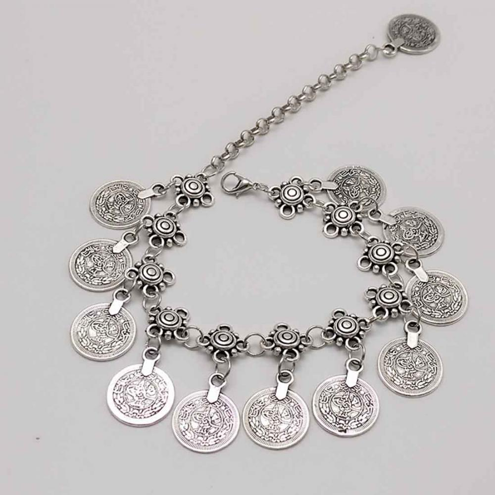 jewelry sets Wholesale Zinc Alloy Anklet with turquoise and lobster clasp 622282
