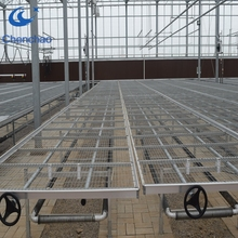 welded wire rolling benches hot water heating system greenhouse seed bed