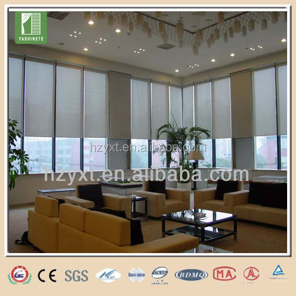 Customized high quality zebra roller blinds outdoor pvc