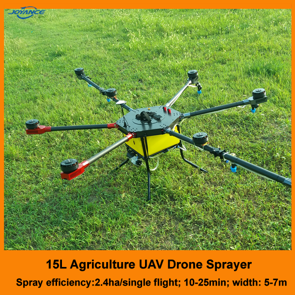 Easy to Operate Agricultural Electrostatic Nozzle UAV, UAV Drone Crop Sprayer