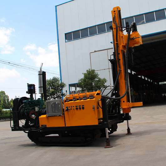 BDM-80 modell verankerung track mounted drilling rig