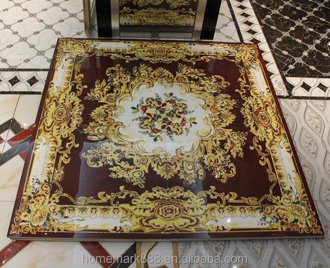 Polished Golden Crystal Porcelain Floor Carpet Tile For Living Room - Buy  Porcelain Carpet Tile,Carpet Floor Tile,Carpet Tile Product on Alibaba.com