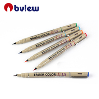 High quality Custom School Art Marker Fineliner Color Pen Set
