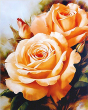 GZ523- 40*50 burst into bloom impressionist art diamond painting by numbers for flower with fruit