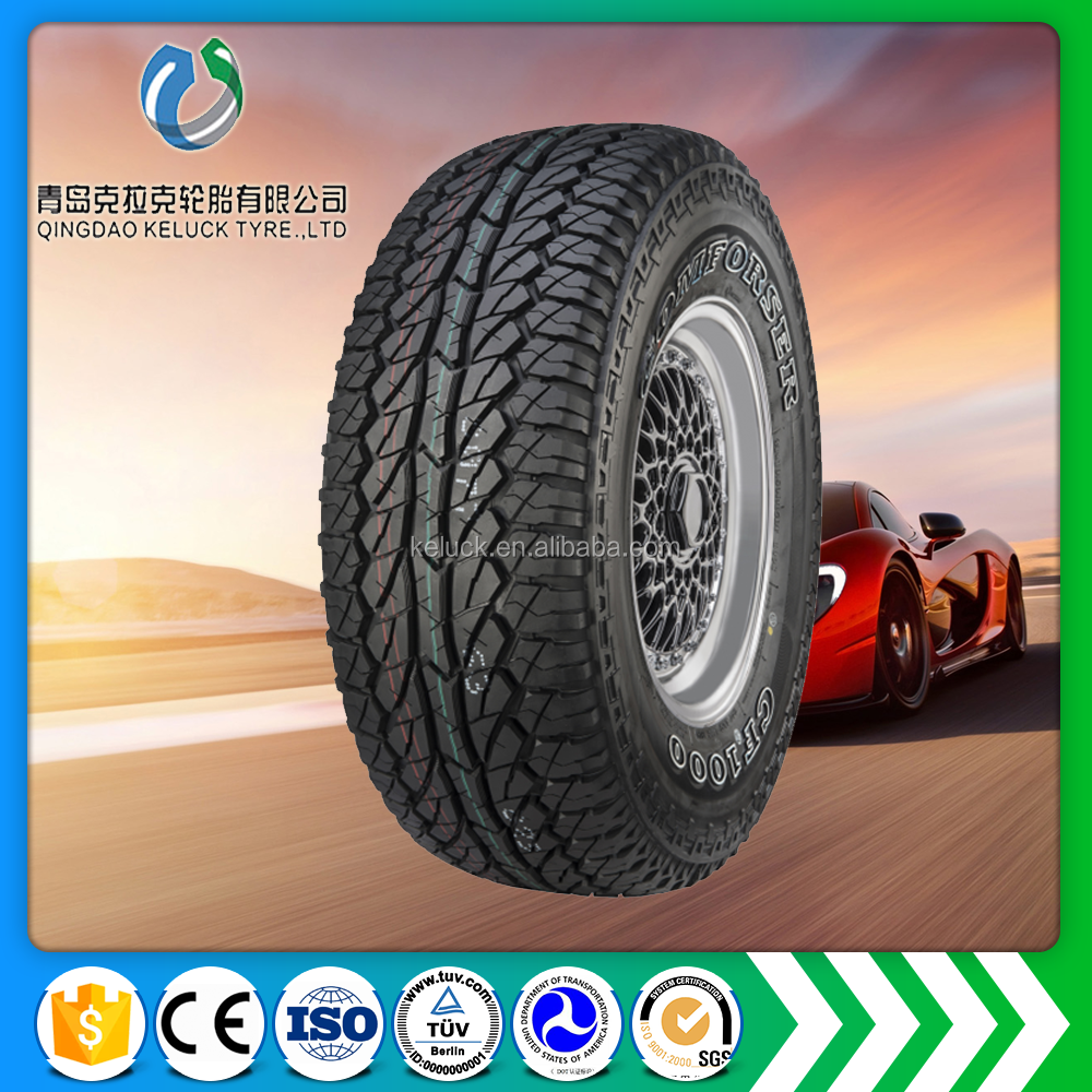 Dongying top quality best sale comforser SUV Automobile tire CF1000 LT235/85R16 pcr factory LT245/75R16 OWL Cheap car tyre