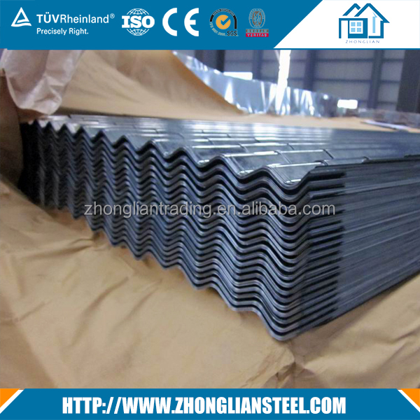 Galvanized corrugated curved sheet metal roofing prices