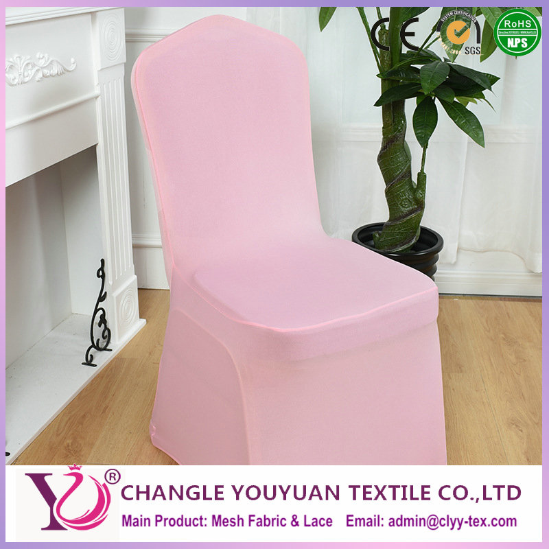 Suppy multi-colors gray spandex chair covers fabric