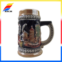 promotional classical decorative liquid drinking beer mugs