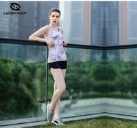 Spandex Women Sexy Fitness Gym Wear Sets Sportswear Clothes Three Pieces