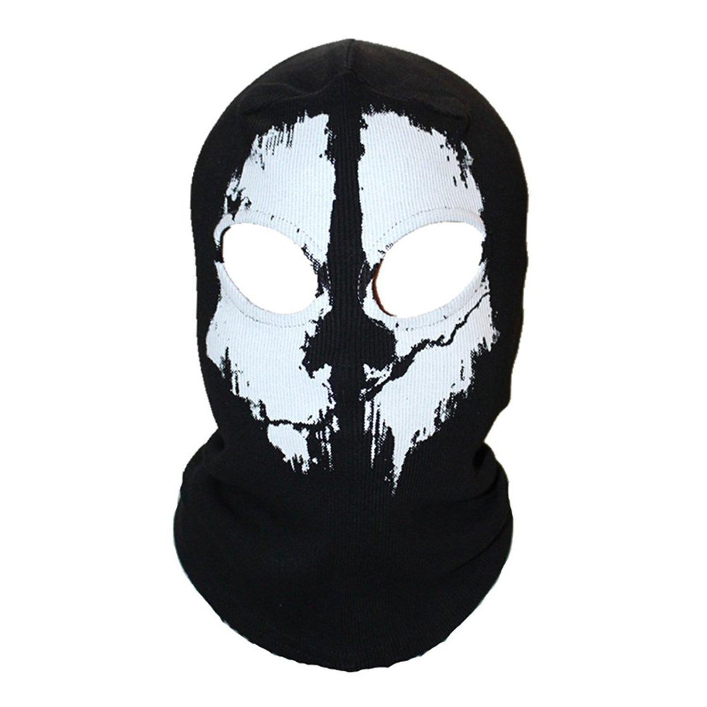 Cozylkx Men Fleece Lined Visor Cap Winter Warm Ski Face Mask Visor Balaclava Mask