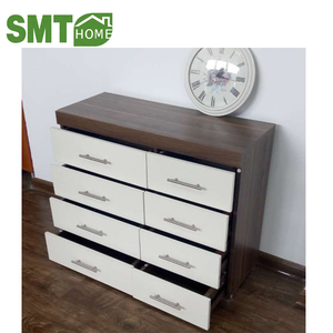 2018 high quality 8 drawer modern european style cabinet