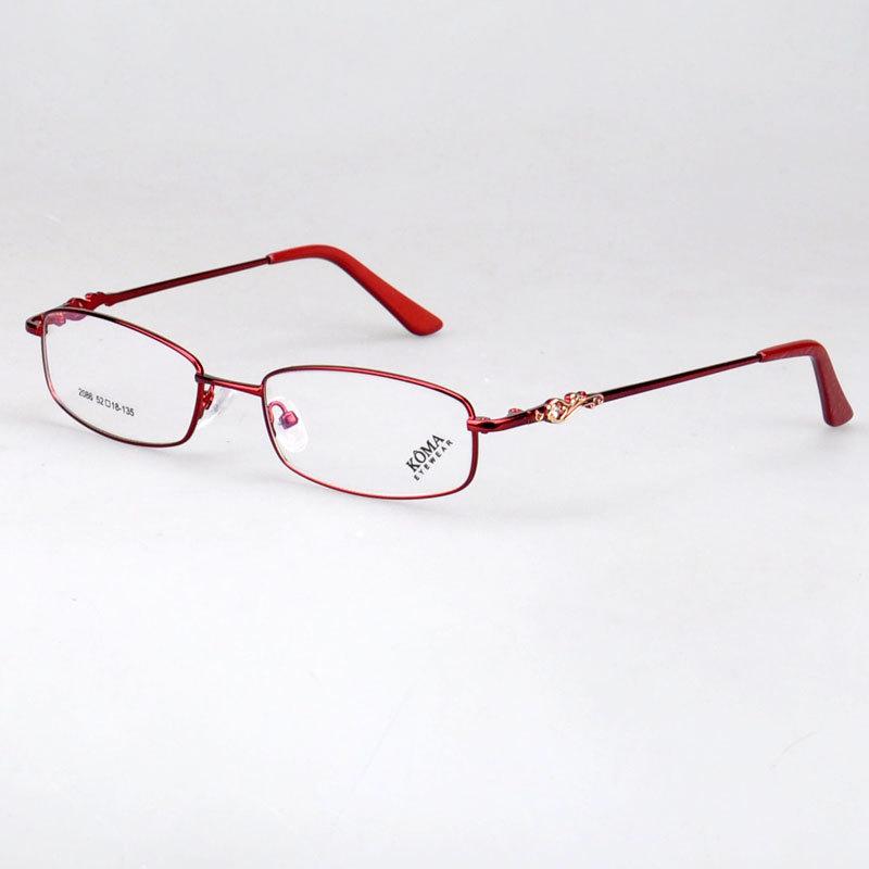 9efa20e082934 Get Quotations ·  2086 Branded designer professional factory made glasses  alloy allumium optical eyeglasses frame
