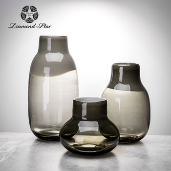 glass vase shapes and names for coffee table glass storage jar