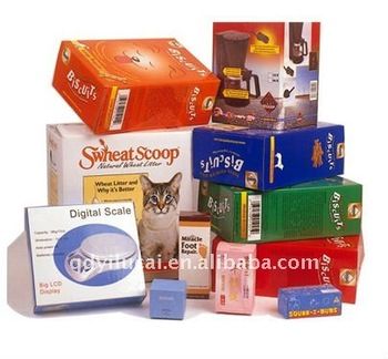 Cardboard Craft Boxes To Decorate Packaging
