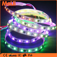 New rgb led strip dmx led strip addressable aluminum smd magic led strip uv flexible 5050 led strip ws2812b led stripe
