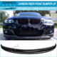 For 09-11 BMW E90 E91 LCI M-Tech M-Sport AK Style Front Bumper Lip - Carbon Fiber CF