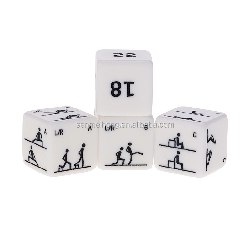 6 Sides Poker Dice 25mm teaching Dices For Custom logo life and entertainment Game set Gambling Pieces Toy Table Games