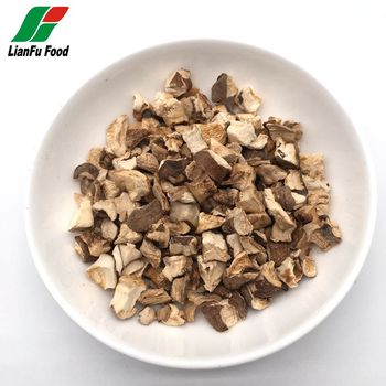 Dehydrated shiitake mushroom for instant noodles