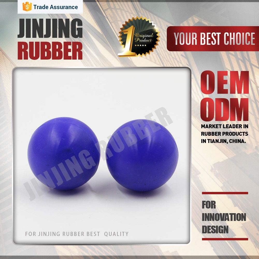 High quality custom Silicone&Nitrile solid  Rubber Ball