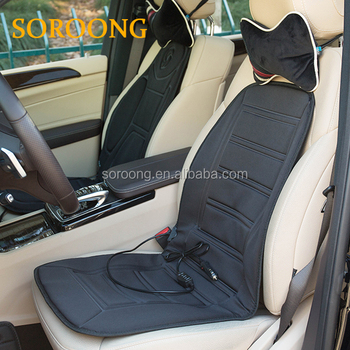 Car Heating Seat Cover Manufacturer 12 Volt Electric Warmer Funny Covers Heated Cushion